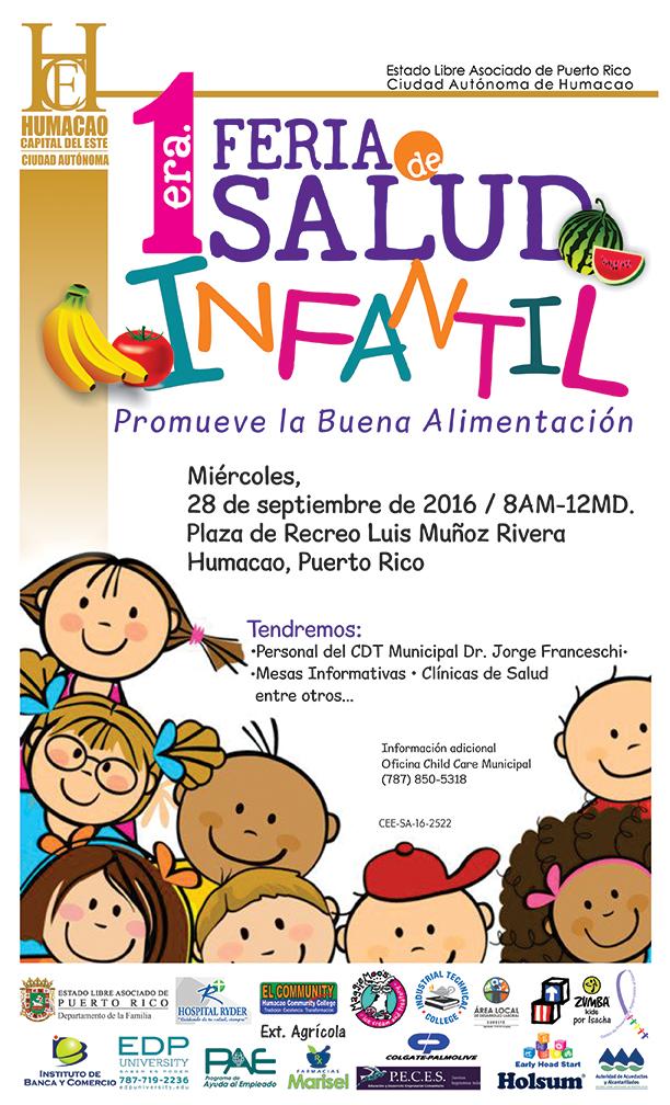Hoja Feria Salud Infantil 2016